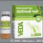 Зеленый чай лосьон для глаз